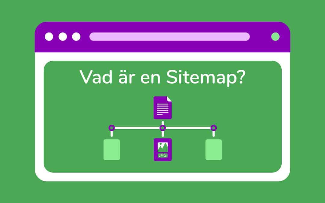 Vad är en sitemap – sitemap.xml