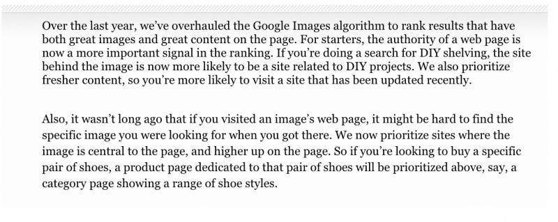 google bildalgoritm