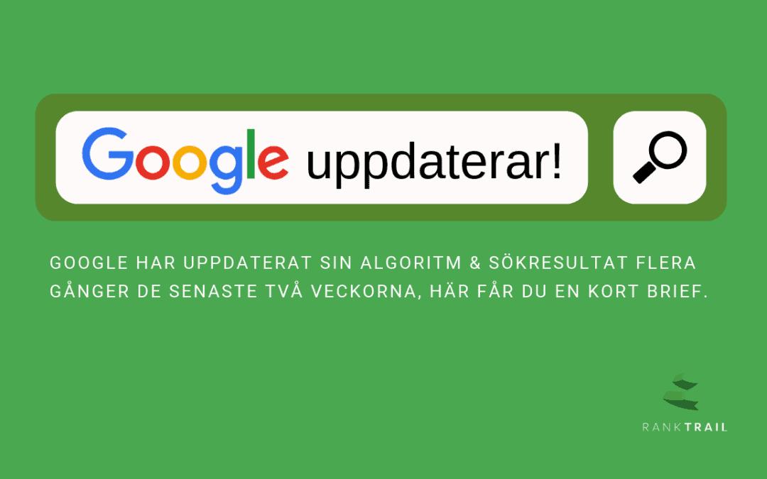 google uppdaterar sin algoritm