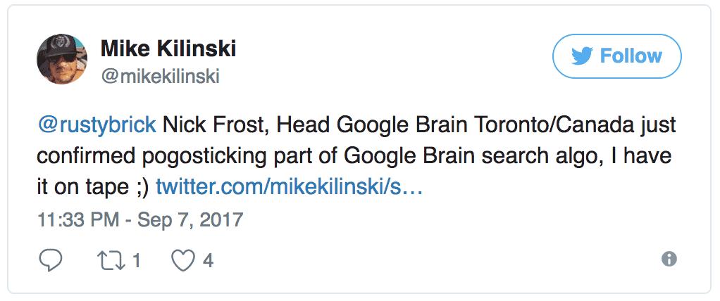 Mike Kilinski Google Thinkauto 2017