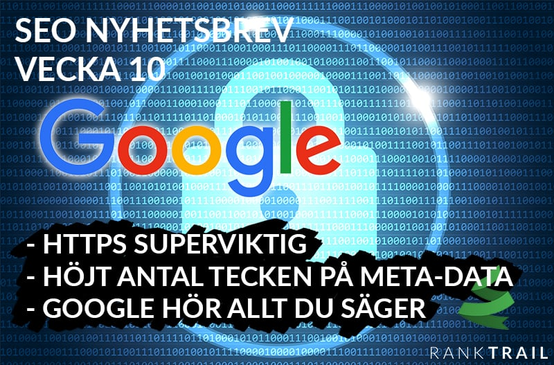 Google hör vad du säger, HTTPS, ändring kring meta-data